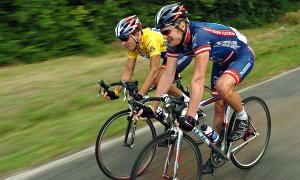 Lance Armstrong As We Knew Him Best - On a Bike In the Yellow Jersey