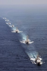 U.S. Warships Ready For Duty